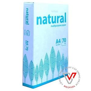 giấy a4 natural 70gsm