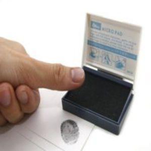 hộp tampon lăn dấu vân tay shiny SM01