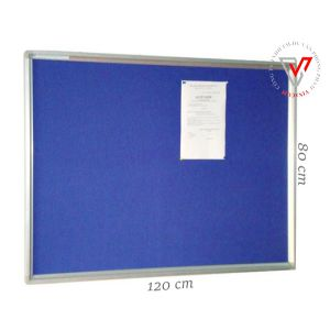 bảng ghim vải nỉ 80x120cm