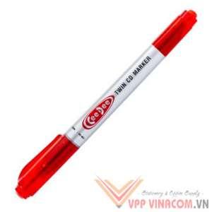 bút lông dầu PM-04 đỏ