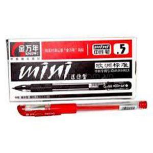 bút nước mini gel Genvana đỏ