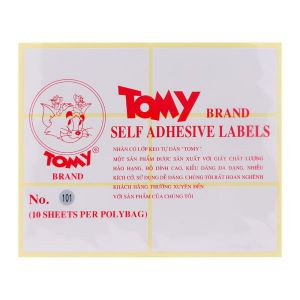 decal tomy A5 số 101