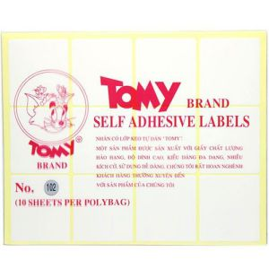 decal tomy A5 số 102