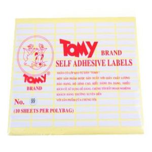 decal tomy A5 số 99
