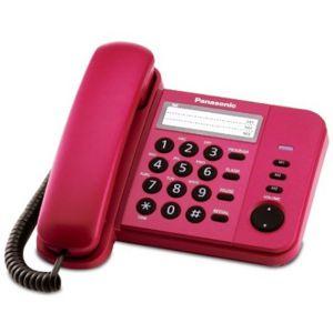 điện thoại bàn Panasonic KX-TS580 màu đỏ