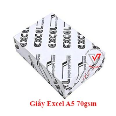 giấy excel a5 70gsm