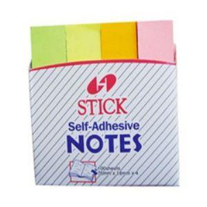 giấy ghi chú 4 màu stick note
