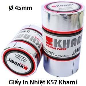 giấy in nhiệt K57 Khami