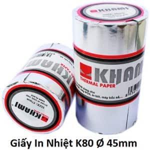 giấy in nhiệt K80 Khami