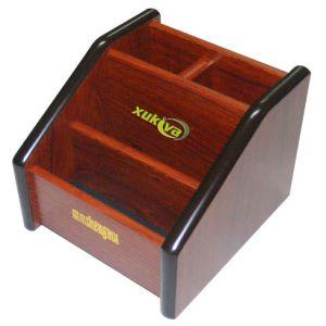 hộp cắm bút gỗ Xukiva 111