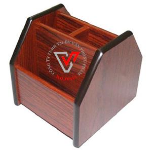hộp cắm bút gỗ Xukiva 6004