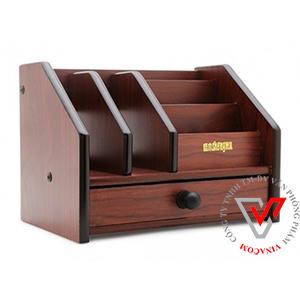 hộp cắm bút gỗ Xukiva 806
