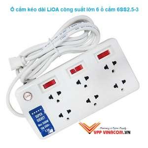 ổ cắm điện Lioa kéo dài công suất lớn 5m