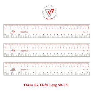 thước thẳng thiên long sr-021