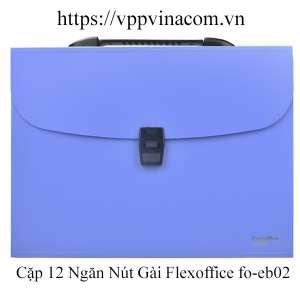 cặp 12 ngăn thiên long flexoffice FO-EB02