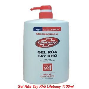 gel rửa tay khô lifebuoy 1000ml