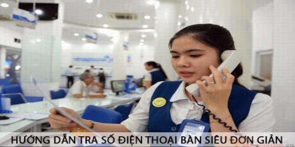cách tra số điện thoại bàn