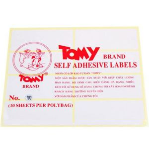 giấy decal a5 tomy số 100