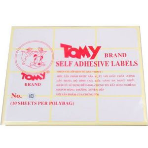 giấy decal a5 tomy số 103