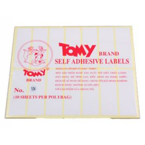 giấy decal a5 tomy số 104