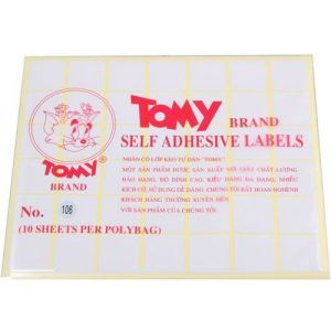 giấy decal a5 tomy số 106