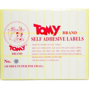 giấy decal a5 tomy số 107