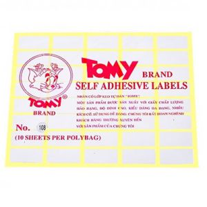 giấy decal a5 tomy số 108