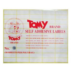 giấy decal a5 tomy số 109