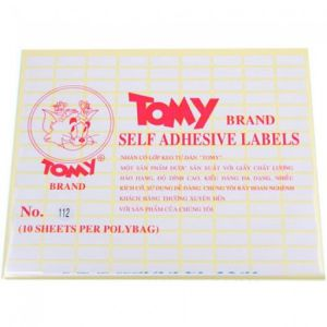 giấy decal a5 tomy số 112