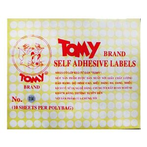 giấy decal a5 tomy số 114