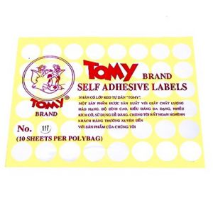 giấy decal a5 tomy số 117