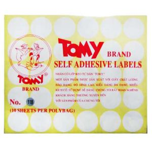 giấy decal a5 tomy số 118