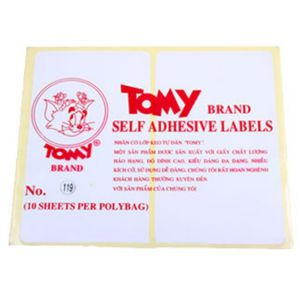 giấy decal a5 tomy số 119