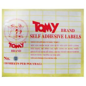 giáy decal a5 tomy số 123