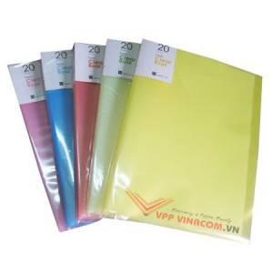 bìa nhựa 20-40-60-80-100 lá A4 VC