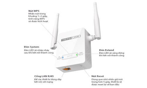 bộ kích sóng wifi totolink ex200