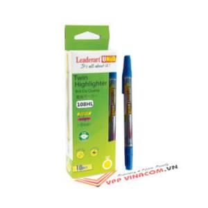 bút dạ quang leaderart 108hl xanh dương